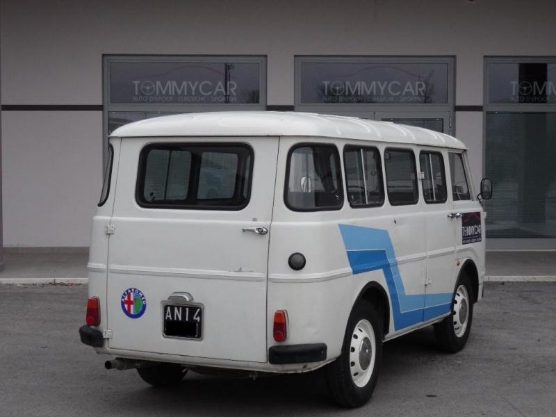 alfa romeo f12 pulmino 1970 cv prezzo  venduto    sold