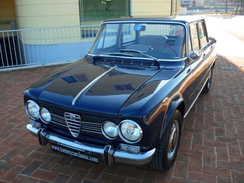 alfa romeo giulia 1600 super 1969 98cv prezzo venduta sold. Black Bedroom Furniture Sets. Home Design Ideas