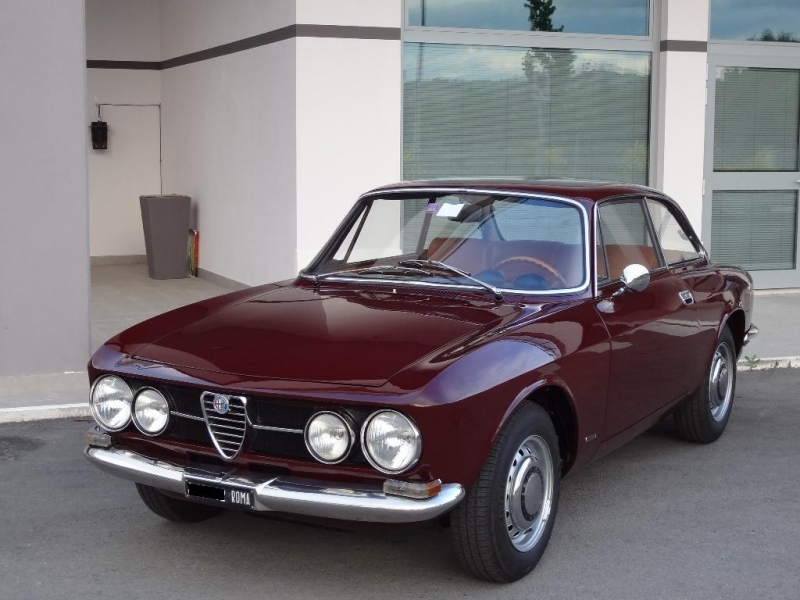 alfa romeo 1750 gt veloce 1 serie 1968 114cv prezzo venduta sold verkauft. Black Bedroom Furniture Sets. Home Design Ideas