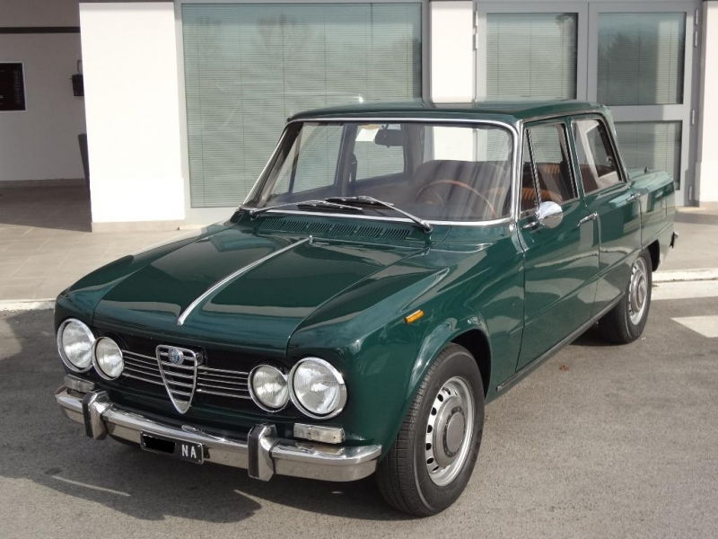 alfa romeo giulia super 1 6 1969 98cv prezzo venduta. Black Bedroom Furniture Sets. Home Design Ideas