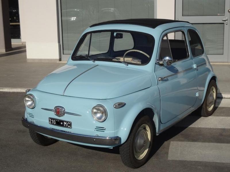 Fiat Nuova 500 N Trasformabile 1959 Cv Prezzo Venduta Sold